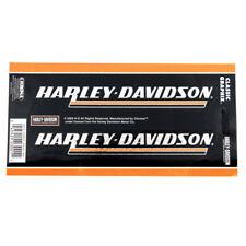 Biker Harley Davidson HD USA Chrom Emblem Aufkleber Decal Sticker 2 Stück NEU