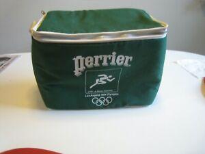 Vintage Perrier Promotional Drinks Cooler - 1984 Los Angeles Olympics