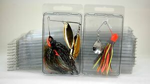 20- Spinnerbait storage boxes  (Brand new clamshells)