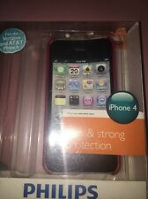 iPhone 4 Philips Case 2 In 1 Pink And Clear White