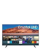 "SAMSUNG 50"" 4K cristallo vista LED SMART TV-CARBON ARGENTO-UE50TU7100K"