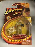 Indiana Jones Action Figure 2008 Series - Russian Soldier - Brand New - MOC