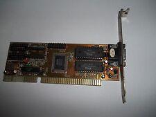 VINTAGE scheda Video grafica da 16BIT SLOT ISA VGA RETROCOMPUTER 286 386 486 (11