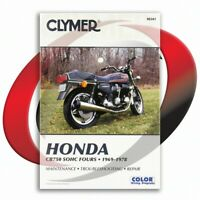 1975-1978 Honda CB750F Repair Manual Clymer M341 Service Shop Garage