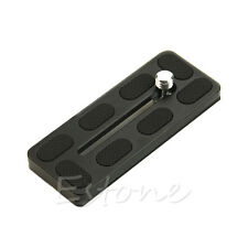 NEW PU100 Quick Release Plate 100mm for Benro B1 J1 Arca Swiss Compatible PU100