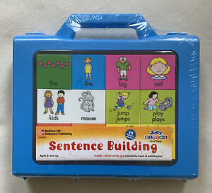 Judy Blocks In A Case Sentence Building Homeschool Pre-K Kindergarten 1st NEW