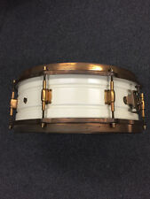Leedy White Elite Snare Drum 1920's $1599.99