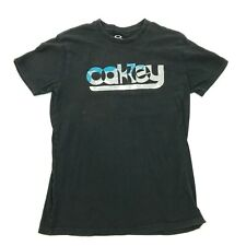 Oakley Chemise Taille M Noir T-Shirt Coupe Standard Grand Logo
