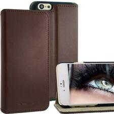 Bookstyle Leather Bag for Apple iPhone 6 Brown With Standfuktion Leather Case NEW!!!