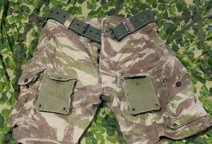 Unusual French Lizard Camo Shorts Modified  36 TAP Para Panzerfaust Repro M47