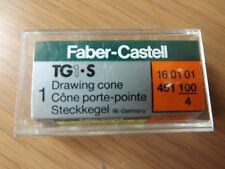 'Faber-Castell' TG1-S Drawing Cone 1.00mm - 451 100 - NEW + FREE P&P