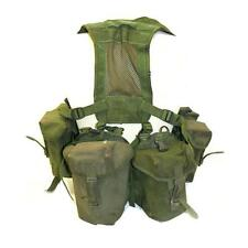 Olive Green PLCE Webbing set Genuine British Army 90 Pattern 6 piece webbing set