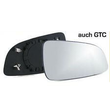 Opel Astra H auch GTC Spiegelglas Konvex gewölbt beheizbar Rechts