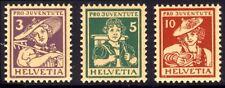SWITZERLAND #B4-6 Mint NH - 1916 Pro Juventute Set