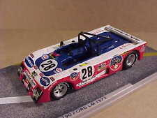 Bizarre 1/43 Resin Lola T290 (T292) Ford Cosworth, 1973 LeMans, ESSO #28  #BZ144
