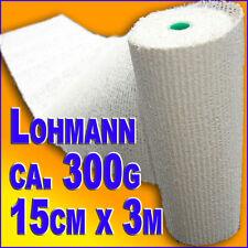 15 Lohmann Gipsbinden > ca. 4,5KG <15cmx3m für Babybauchabdruck