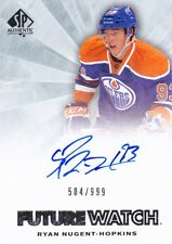 11-12 SP Authentic Complete Set 1-280 Ryan Nugent-Hopkins w/ Holo FX/Extended RC