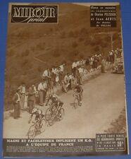 MIROIR SPRINT N°162 1949 CYCLISME TOUR FRANCE MAGNI FACHLEITNER BARTALI
