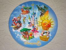 Carte Postale ronde XL parc Disneyland Paris 15 ans EURODISNEY NEUVE