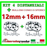 KIT 4 DISTANZIALI X BMW SERIE 3 TOURING 2013 (F30 31) PROMEX ITALY 12mm + 16mm S