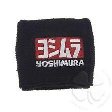 Large Black Yoshimura Brake Clutch Reservoir Sock Cover Motorcycle Bike Sweat