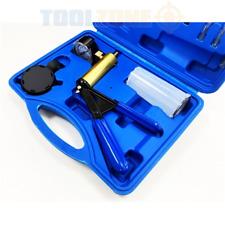 16 Piece Hand Held Vacuum Pump Set Garage Diy Tools Diagnostic Equipment