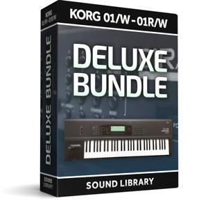 Korg 01W-R Sound Banks Libraries Combi Programs PCG Files