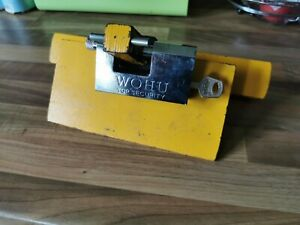 PEDAL LOCK FORD TRANSIT MK7 PEDAL  BOX LOCK HIGH SECURITY AND VISIBLE UNIT*