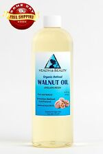 WALNUT OIL ORGANIC by H&B Oils Center COLD PRESSED PREMIUM 100% PURE 32 OZ