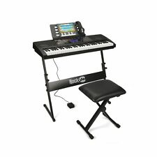 RockJam Rj761-Sk Key Electronic Interactive Teaching Piano Keyboard with Stan.