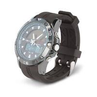 Herren Armbanduhr Quarz Digitale Dual Uhr Wasserdicht Watch Alarm Stoppuhr Licht