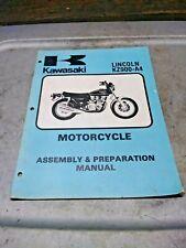 1976 Kz900-A4 Kz900 Assembly & Preparation Manual 99995-273-01 (Fits: Kawasaki)