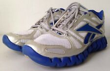 Reebok ZigTech Blue / Silver / White  Mens Size 11 Pre-owned J83176