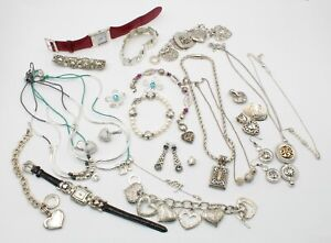 LOT OF 28 BRIGHTON & INSPIRED FASHION JEWELRY WATCHES NECKLACE EARRINGS + 10331