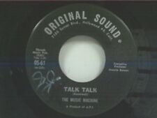 "MUSIC MACHINE ""TALK TALK / COME ON IN"" 45"