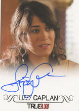 True Blood Premiere Edition Autograph Card Lizzy Caplan Amy Burley Full Bleed