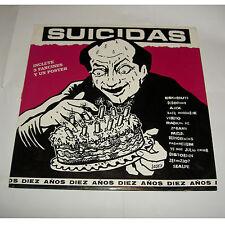Vinilo LP  Diez Años Discos Suicidas
