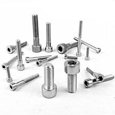 Cap Screw Hex Socket Allen Key Bolt Head Marine A2 Stainless Steel DIN 912 M3-M8