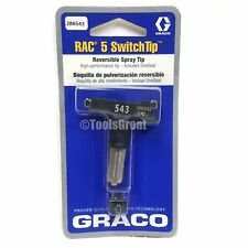 Graco Rac 5 286543 Switch Tip Paint Spray Tip Size 543