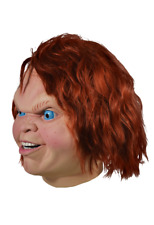 Halloween Child's Play 2-Evil Chucky Latex Deluxe Mask TOT's Officially Licensed