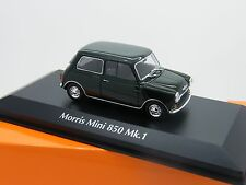 MAXICHAMPS - 940-138601 MORRIS MINI 850 MK1 1960 GREEN 1:43 SCALE