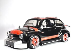 Tamiya 58158 Fiat Abarth 1000 TCR Berlina Corsa W/ Aluminum 4-Spoke Wheels 53249