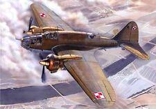 PZL 37 a los I-WW II bomber (polonais et roumain af marquages) 1/48 mirage