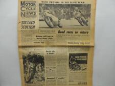 May 12 1965 Motorcycle News Newspaper Motocross Bultaco Phil Read Honda L11453