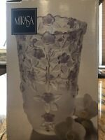 """Beautiful MIKASA Lavender Fields Vase 9 1/2"""" Made in Germany. Discontinued."""