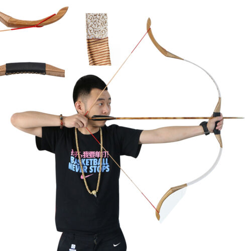 30Lbs New Archery Practice Tradition Recurve Bow Right Left Hand Outdoor Hunting Coupon