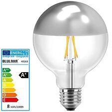 LED Kopfspiegellampe 8 watt Silber Verspiegelt E27 G125 Globe Lampe Birne