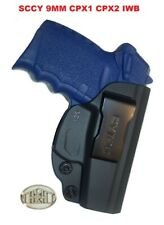 SCCY 9MM CPX1 CPX2 For Concealed Carry, Gun Holster IWB Inside Waistband Polymer