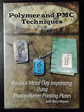 ~ PRECIOUS METAL CLAY DVD [MARY MAYNOR] PMC POLYMER ART CRAFT JEWELRY DESIGN