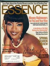 Essence Magazine February 2006 Lauryn Hill, Zane, Spring Fashion Vol. 36 No. 10